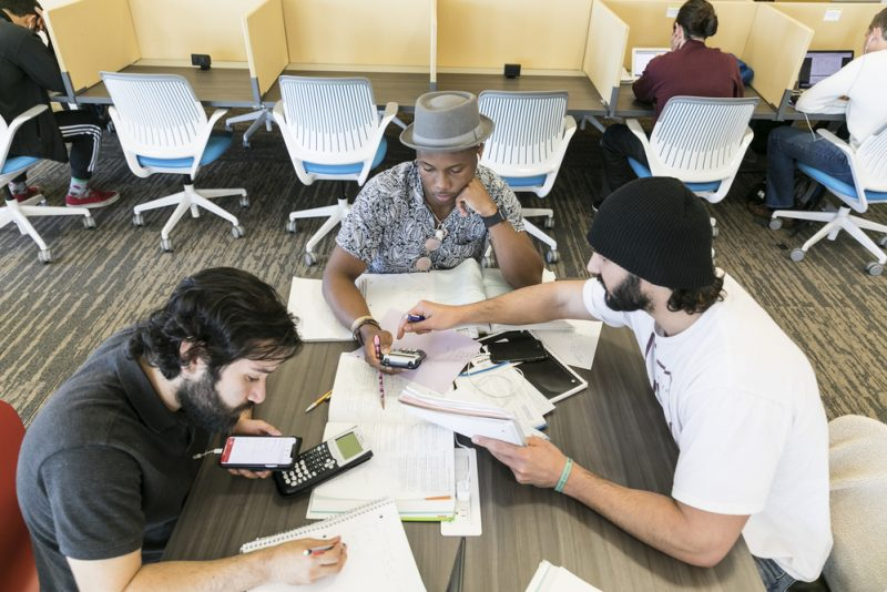 ACC students study